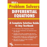 REA's Problem Solver Differential Equations
