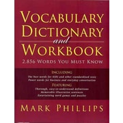 Vocabulary Dictionary and Workbook: 2,856 Words You Must Know
