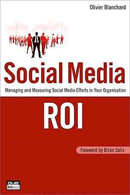Social Media ROI Olivier Blanchard Paperback