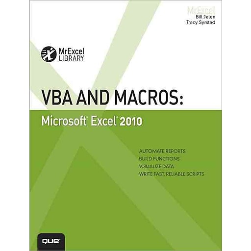 Staples 3p S7 Is X Images For VBA And Macros Microsoft Excel 2010 MrExcel Library