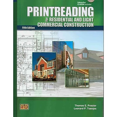 Printreading for Residential and Light Commercial Construction, Used Book, (0826904683)