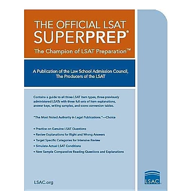 The Official LSAT SuperPrep: The Champion of LSAT Prep, Used Book