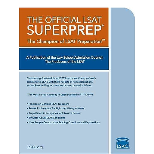 The official lsat superprep the champion of lsat prep staples httpsstaples 3ps7is malvernweather Image collections