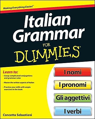 Italian Grammar For Dummies (For Dummies (Language & Literature)