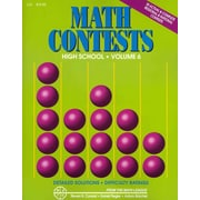 Math Contests: High School, Vol. 6 (School Years: 2006-2007 Through 2010-2011)