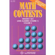 Math Contests, Grades 7 & 8 / Algebra, Course 1