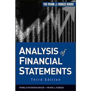 Analysis of Financial Statements (Frank J. Fabozzi Series)