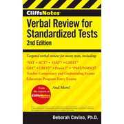 CliffsNotes Verbal Review for Standardized Tests, 2nd Edition