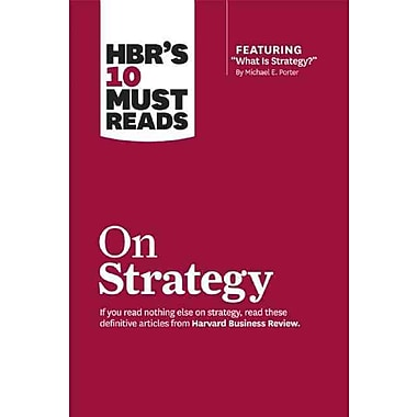 HBR's 10 Must Reads on Strategy, (1422157985)