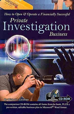 How to Open & Operate a Financially Successful Private Investigation Business