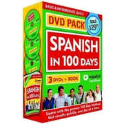 Spanish in 100 Days - Libro y 3 DVD Pack / Spanish in 100 Days (Spanish Edition)