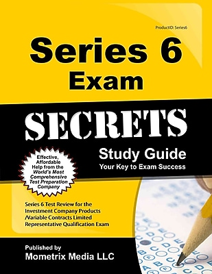 Series 6 Exam Secrets Study Guide
