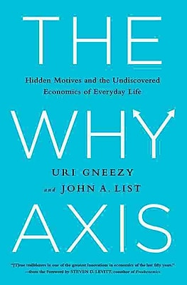 The Why Axis: Hidden Motives and the Undiscovered Economics of Everyday Life - HC