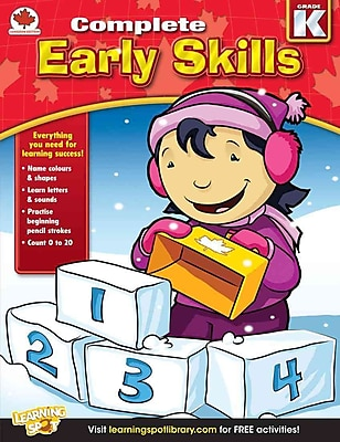 Early Skills, Grade K: Canadian Edition (Complete)