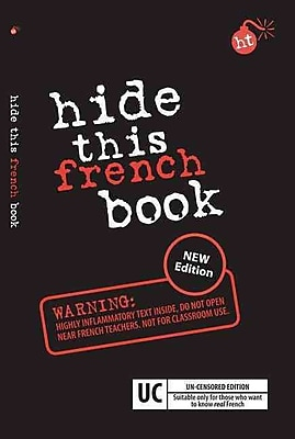 Hide This French Book (Hide This Book) (French Edition)