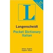 Langenscheidt Pocket Dictionary Italian