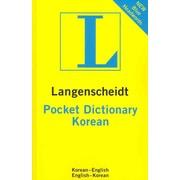 Langenscheidt Pocket Dictionary Korean