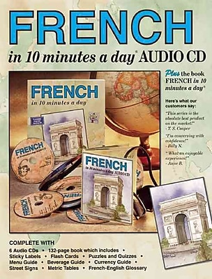 FRENCH in 10 minutes a day®