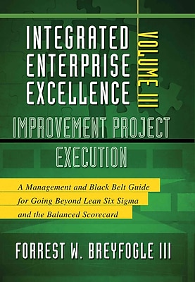 Integrated Enterprise Excellence, Vol. III Improvement Project Execution