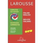 Larousse Concise Dictionary: Italian-English/English-Italian (Italian Edition)