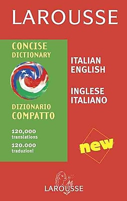Larousse Concise Dictionary: Italian-English/English-Italian (Italian Edition)