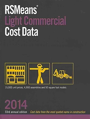 RSMeans Light Commercial Cost Data 2014