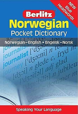 Norwegian Pocket Dictionary (Berlitz Pocket Dictionary) (English and Norwegian Edition)