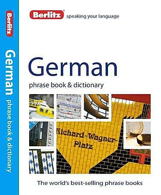 Berlitz German Phrase Book & Dictionary (English and German Edition)