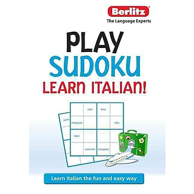 Berlitz Play Sudoku, Learn Italian