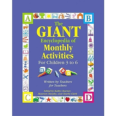 Gryphon House The GIANT Encyclopedia of Monthly Activities for Children 3 to 6 (GR-15002)