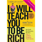I Will Teach You To Be Rich Ramit Sethi Paperback