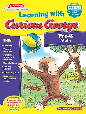 Learning with Curious George Pre-K Math