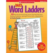 Scholastic Teaching Resources Daily Word Ladders: Grade 2-3 Timothy Rasinski Paperback (SC-0439513839)