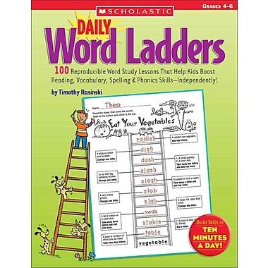 Daily Word Ladders: Grades 4-6 Timothy Rasinski Paperback
