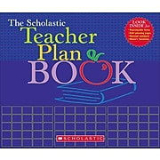 The Scholastic Teacher Plan Book (Updated), 96 Pages, For Grades K-6