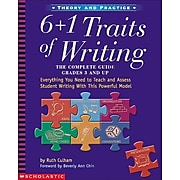 6 + 1 Traits of Writing: The Complete Guide, Grades 3 and up by Ruth Culham, Paperback (9780439280389)