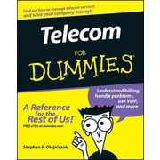 Telecom For Dummies Stephen P. Olejniczak Paperback