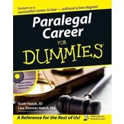 Paralegal Career For Dummies Scott Hatch , Lisa Hatch Paperback