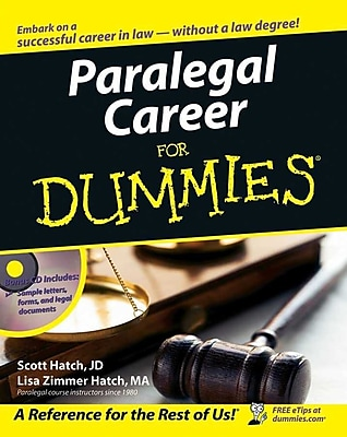 Paralegal Career For Dummies Scott Hatch , Lisa Hatch Paperback