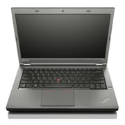 "Lenovo ThinkPad T440p 14"" LED Backlit LCD Intel i5-4300M 500 GB HDD, 4 GB, Laptop, Black"
