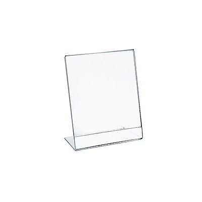 Azar Displays L-Shape Sign Holders 10/Pack