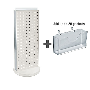 Azar Displays Pegboard Counter Gift Card Holder, 8
