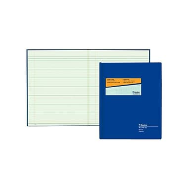 Blueline® Columnar Record Book, A1740-01, 80 Sheets, 10
