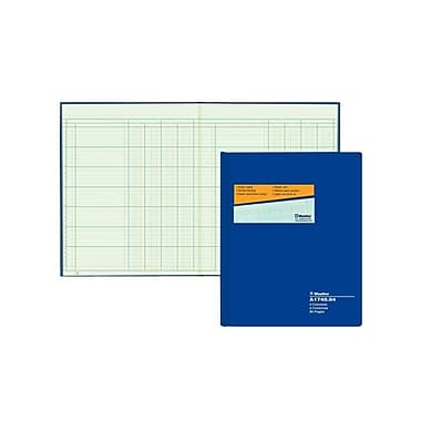 Blueline® Columnar Book, A1740-04, 4 Columns, 80 Sheets, 10