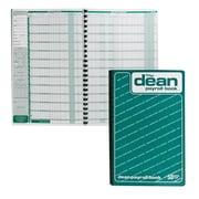 "Dean & Fils Payroll Book, 80-050, 13-3/4"" x 9"", 50 Employee, English, each"
