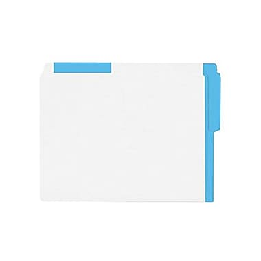 Esselte® Oxford® Legal End Tab Folder With Coloured Strips, 100/Box