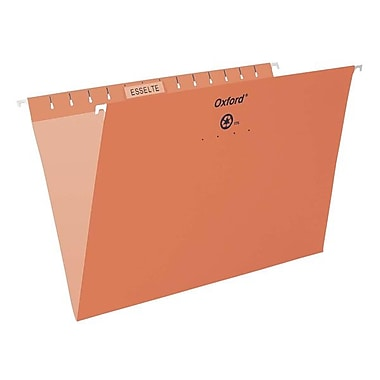 Esselte® Oxford® Letter Coloured File Hanging Folder, 25/Box