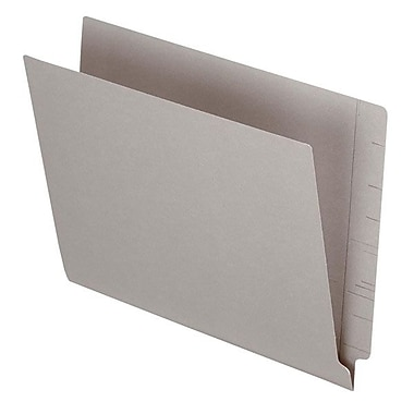 Pendaflex® Letter Colour End Tab Folder with Reinforced Tab, Gray, 100/Box