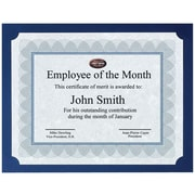 First Base St. James™ Certificate Holder, Navy Blue, 25/Pack