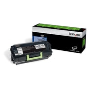 Lexmark 521 Black Return Program Toner Cartridge (52D1000)